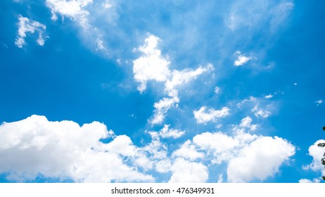 Blue Sky With Clound