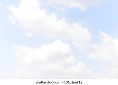 blue sky and clounds
