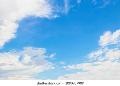blue sky and clounds background