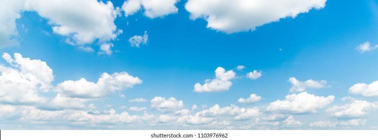 blue sky cluds