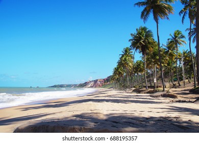 Blue Sky  in Coqueirinho Beach