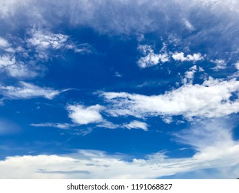 blue sky at koh chang trat thailand beach