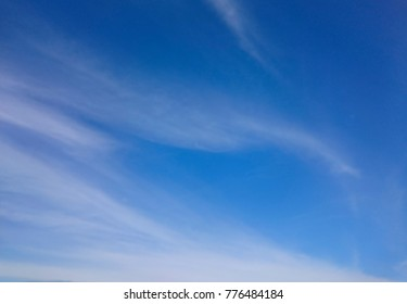 Blue Sky with light cloud