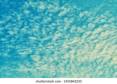 blue sky and little white clouds  ,nature wallpaper background