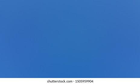 blue sky over italy in september
