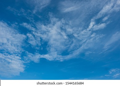 blue sky over situ gunung lake