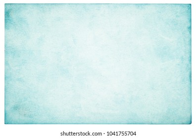 Blue sky paper texture background - (clipping path included)