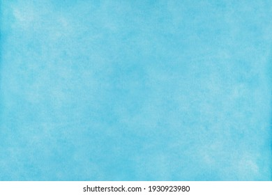 Blue sky watercolor background, texture paper - Shutterstock ID 1930923980