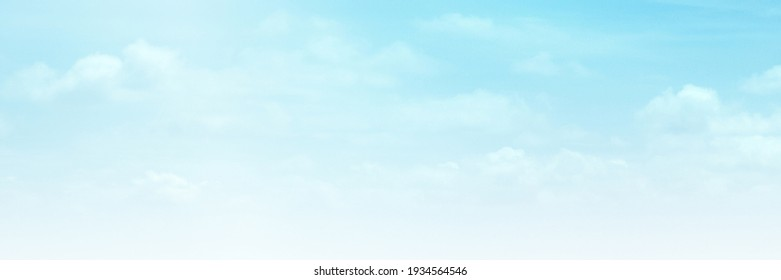 Blue sky with white cloud. Blue background. The summer sky is colorful clearing day and beautiful nature in the morning. for backdrop decorative and wallpaper design. The perfect sky background.