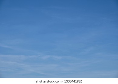 Blue sky with white clouds as background image or design texture. different patterns and shades.
