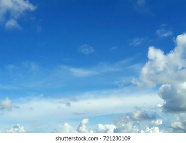 blue sky white clouds as background pattern wallpaper