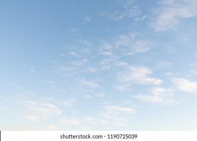 blue sky with white clouds, nature background