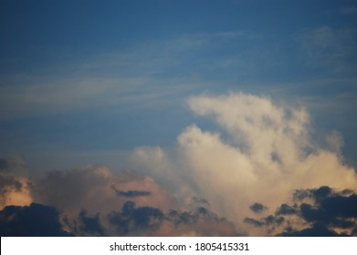 Blue Sky and White Clouds, Skyscape