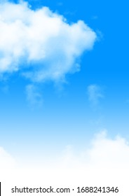 Blue Sky with White Clouds, Type of Clouds