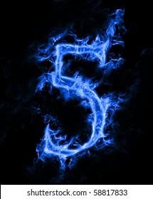 """Blue smoke no. """"5"""""""
