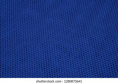 Blue sport fabric texture background. Sports shirt nylon's texture cloth.