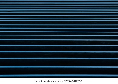 A BLUE STAIRS