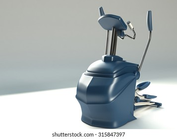 Blue Stepper, Gym Machine