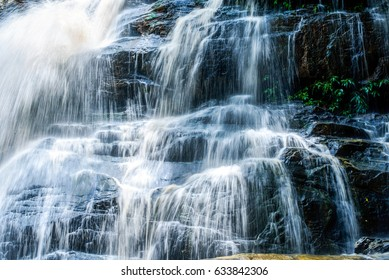 Blue stream waterfall background , , beauty in nature