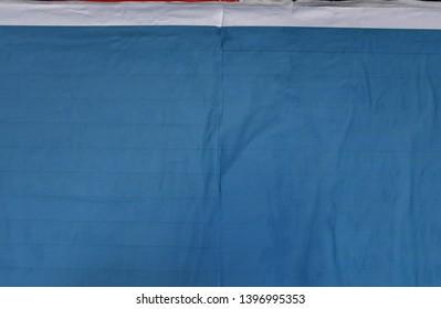 blue street poster paper texture