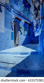 blue street , this is chefchaoun , Morocco