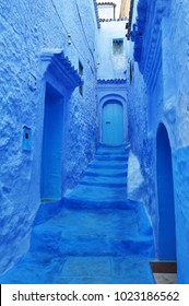Blue streets of Moroccan Chefchaouen