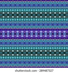 blue stripe ethnic pattern background