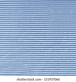 blue striped weave material