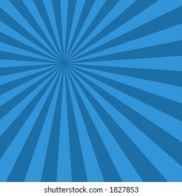 blue stripes with center in the corner