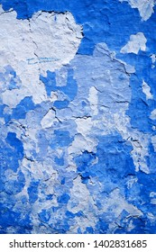 blue stucco texture. shabby background
