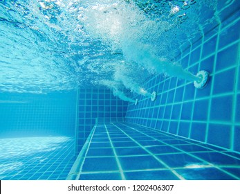 Water Jet Swim Pool Stock Photos, Images & Photography ...
