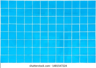Blue swimming pool tile as a background image