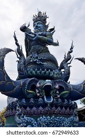 The blue temple, Chiang Rai