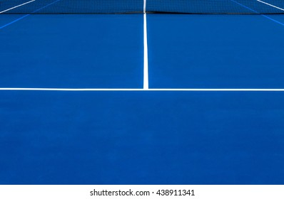 Blue Tennis Court