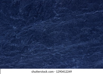 Blue texture dark slate background. Stone surface background