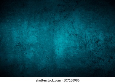 Blue texture dark slate background. Beton concrete surface.