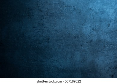 Blue texture dark slate background. Stone concrete surface.