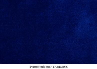 blue texture of velvet fabric for furniture upholstery