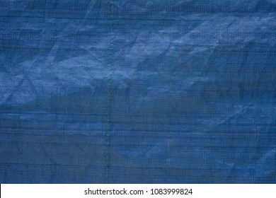 Blue Textured Material plastic textile