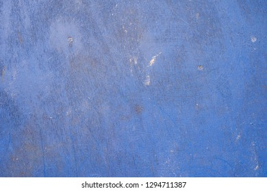 blue textured wall background with copy space.