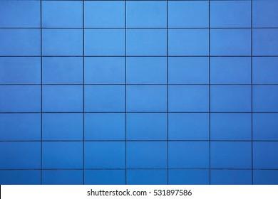 blue tiled background pattern