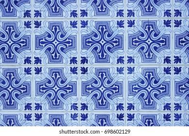 Blue tiles from Lisbon
