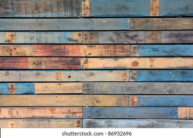 Blue Timber Background