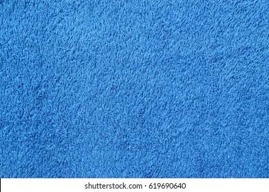 Blue towel texture.