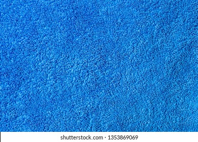 blue towel texture, abstract background