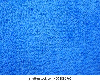 Blue Towel Texture Background