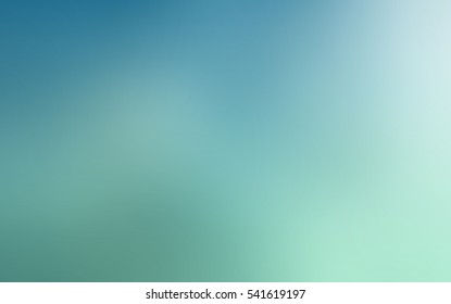 Blue turbid turquoise bottom blended background