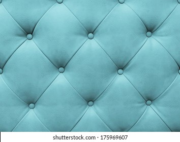 Blue upholstery leather pattern background