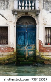 Blue Venice door water