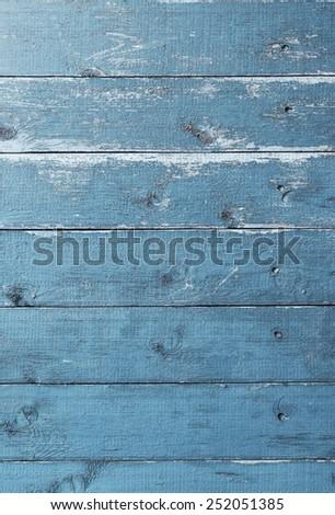 Blue Vintage Wood Texture